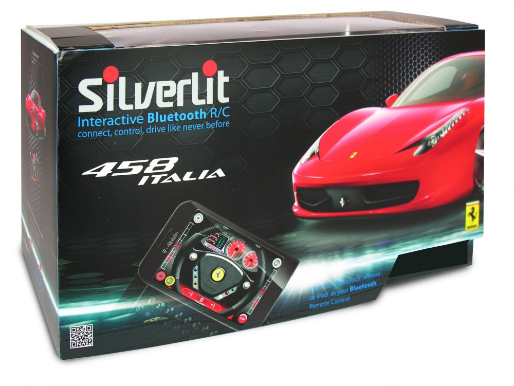 2009072 Ferrari 458 Italia Android Bluetooth 1:16, машинка, шт.