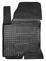 Коврики в салон Kia Ceed (ED) 2007 - 2012, черные, полиуретановые (Avto-Gumm, 11200-11345) - передний водительский