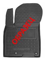 Коврики в салон Kia Ceed (JD) 2012 - черные, полиуретановые (Avto-Gumm, 11201-11345) - передний водительский