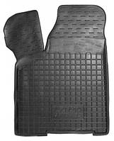 Коврики в салон Lada 2110 1995 - 2007, черные, полиуретановые (Avto-Gumm, 11206-11345) - передний водительский