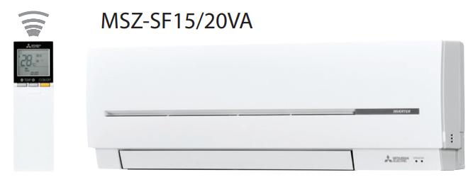 Внутренний блок сплит-системы настенного типа Mitsubishi Electric MSZ-SF20VA1 , фото 2