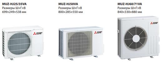 Сплит-система настенного типа Mitsubishi Electric MSZ-HJ35VA/MUZ-HJ35VA, фото 2