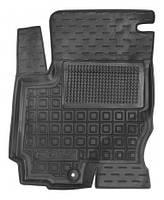Коврики в салон Mitsubishi Colt VI (5 дверей) 2004 - 2012, черные, полиуретановые (Avto-Gumm, 11682-11345) - передний водительский