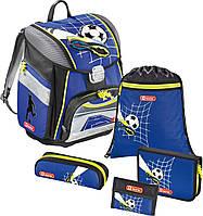 Школьный ранец с наполнением Футбол 129105 Hama Step by Step Touch Top Soccer