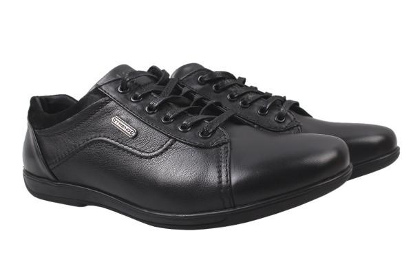 Туфли комфорт Falcon натуральная кожа, цвет черный