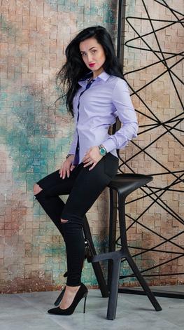 Интересная женская рубашка размеры 42,44,46,48,50, фото 2