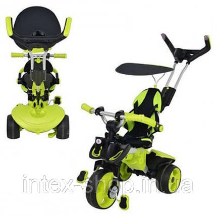 Детский трехколесный велосипед 3263-004 Injusa (Испания) зеленый, фото 2