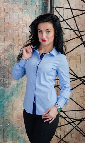 Интересная женская рубашка размеры 42,50, фото 2