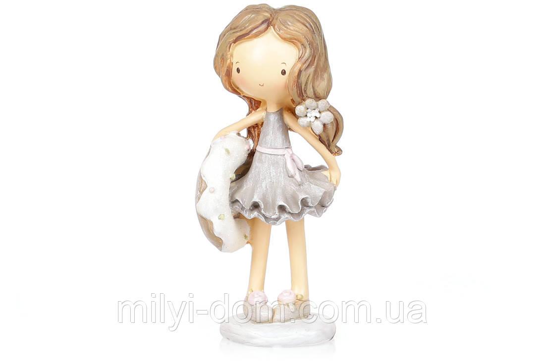 Декоративная фигурка Фея с пончиком, 17см