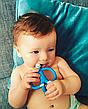 Игрушка-прорезыватель Matchstick Monkey (цвет синий, 10,5 см), фото 3