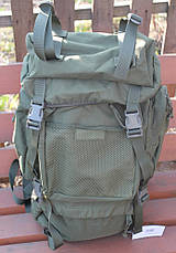 Тактический военный рюкзак MFH Tactical Backpack Oliv, 55 литров, фото 2