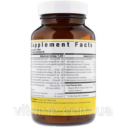 MegaFood, Men Over 55 Мультивитамины и минералы для мужчин 55+ (1 таблетка в день), фото 2