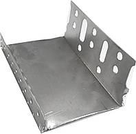 Профиль цокольный 103 мм алюминиевый  (стартовый) JS Tech, фото 1