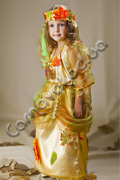Карнавальный Костюм Золотая Осень, цена 480 грн., купить в ... - photo#34