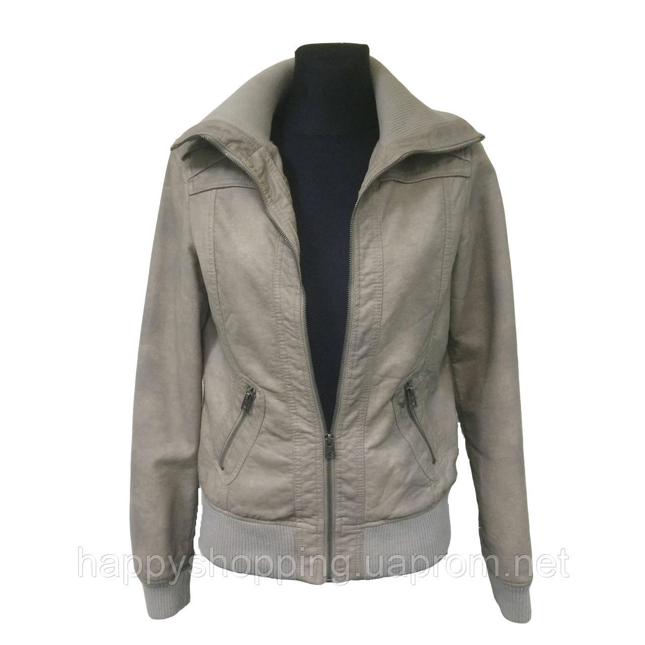Бежевая куртка-бомбер Sutherland