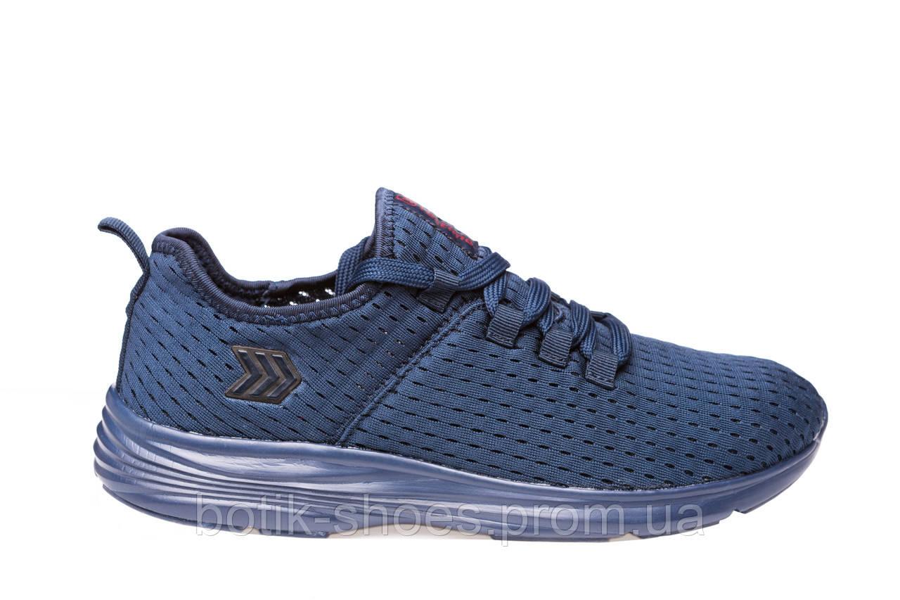 e8910c715 Кроссовки мужские летние сетка синие Restime 19811 - интернет-магазин обуви