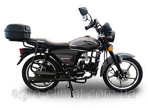 Мотоцикл HORNET Alpha 125куб.см, графіт (з дисковим гальмом)