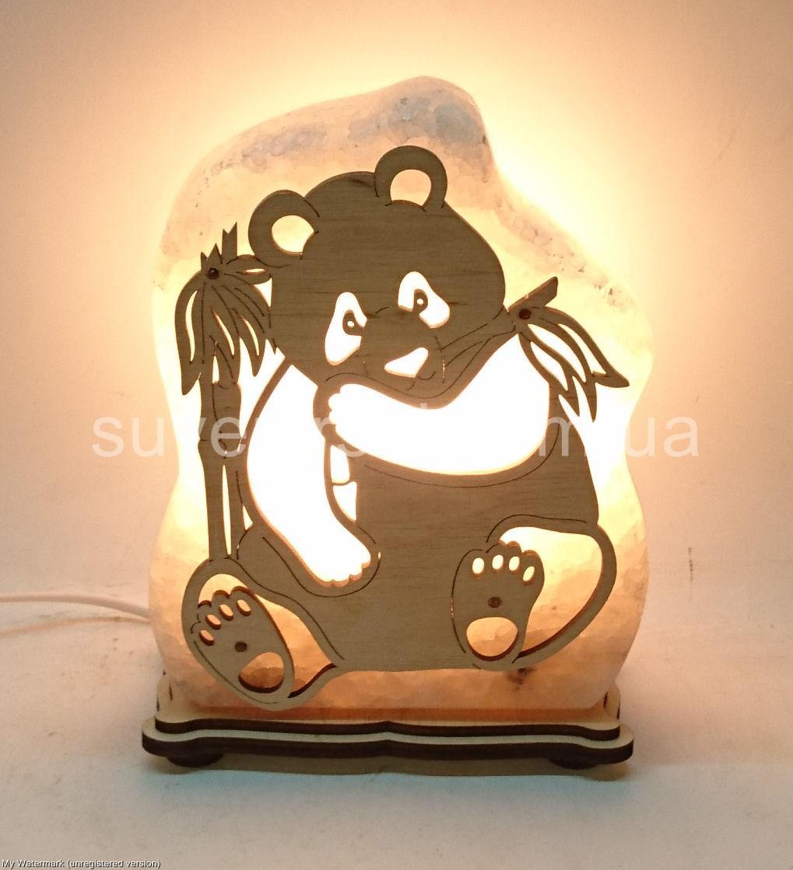 Соляная лампа Панда большая