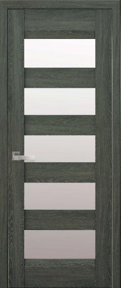 """Дверь межкомнатная со стеклом сатин """"BRONX"""""""