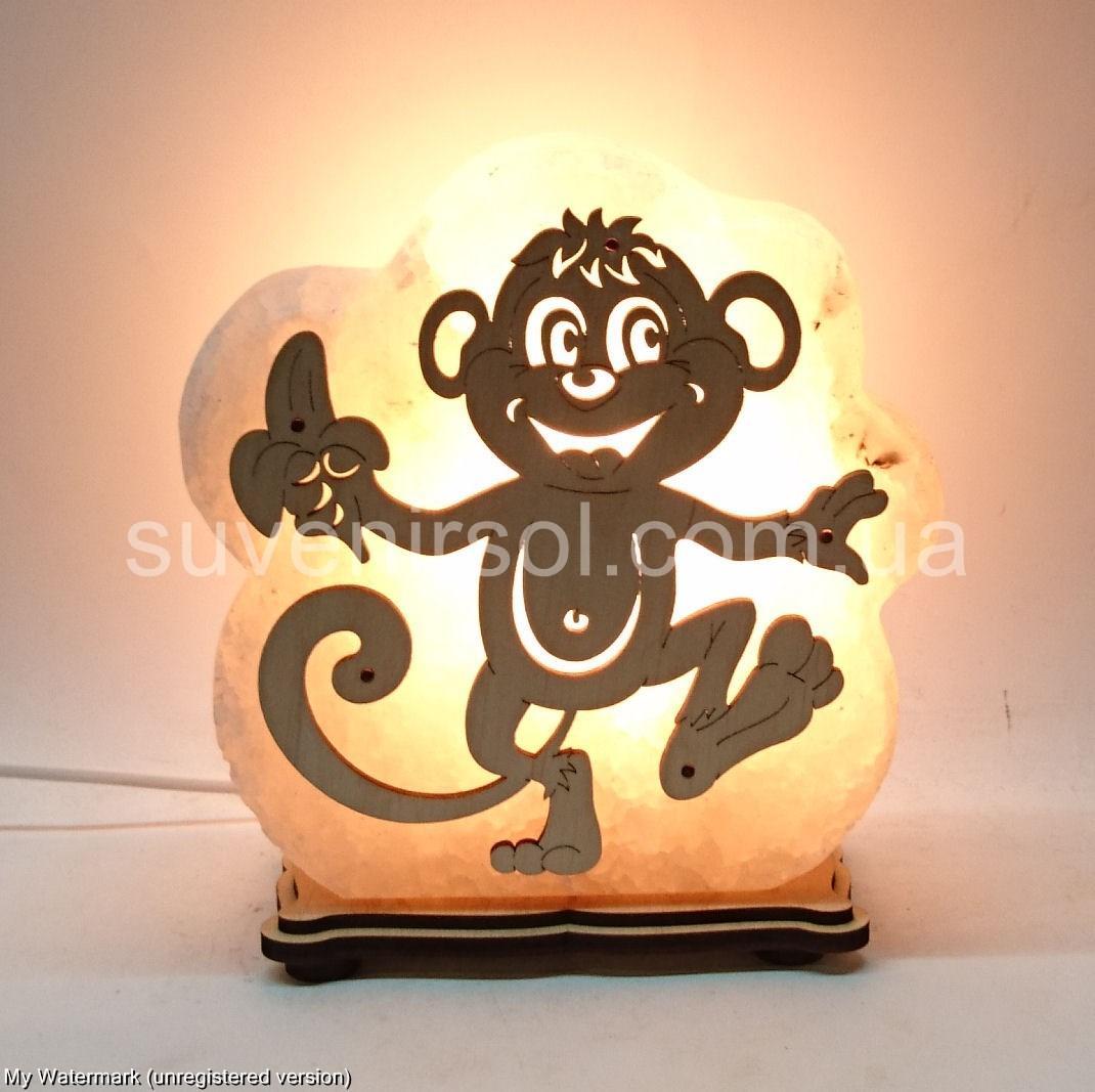 Соляная лампа Макака