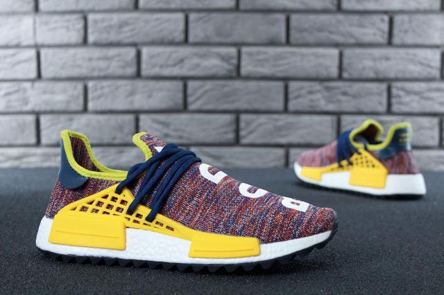 Кроссовки Adidas x Pharrell Williams Human Race NMD Multicolor