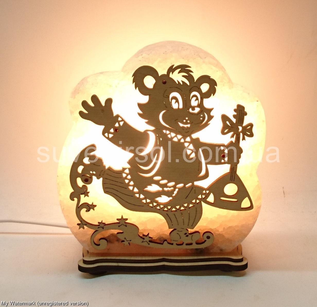 Соляная лампа Мишка Б2