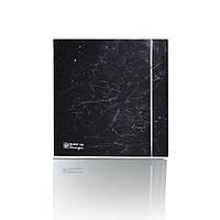 Вытяжной вентилятор Soler&Palau SILENT-100 CZ MARBLE BLACK DESIGN - 4C