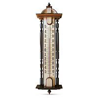 Термометр фасадный Стеклоприбор «Усадьба» ТФ-2, основание – дерево (-50…+50 °C) (300182)
