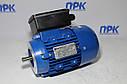 Однофазный асинхронный двигатель ML 63 1-4 0,12кВт 1380 об./мин. Promotor, фото 2