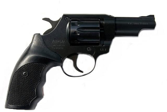Револьвер под патрон флобера SNIPE 3 (пластик)