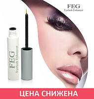 Средство для роста ресниц Feg Eyelash Enhancer ОРИГИНАЛ с голограммой