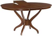 Стол обеденный круглый из натурального дерева Дениз (Deniz)