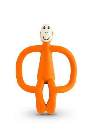 Игрушка-прорезыватель Matchstick Monkey (цвет оранжевый, 10,5 см), фото 2
