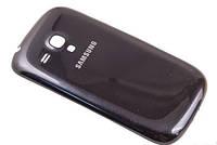 Крышка (задняя панель) на телефон Samsung Galaxy S3 mini i8190 черная