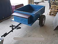 Прицепная тележка к мотоблоку под универсальную ступицу (1,05 х 1,25 м без покрышек и колес) Агромарка, фото 1