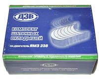 Вкладыши шатунные Р1 ЯМЗ 238 87.75 мм, R1 к-т (пр-во ДЗВ) (Арт. 238-1000104 Р1)