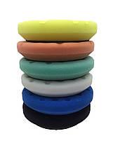 Полировальный круг мягкий антиголограмный - Lake Country Precision Rotary Blue Foam 125 мм. (PR-94600-CCS), фото 3