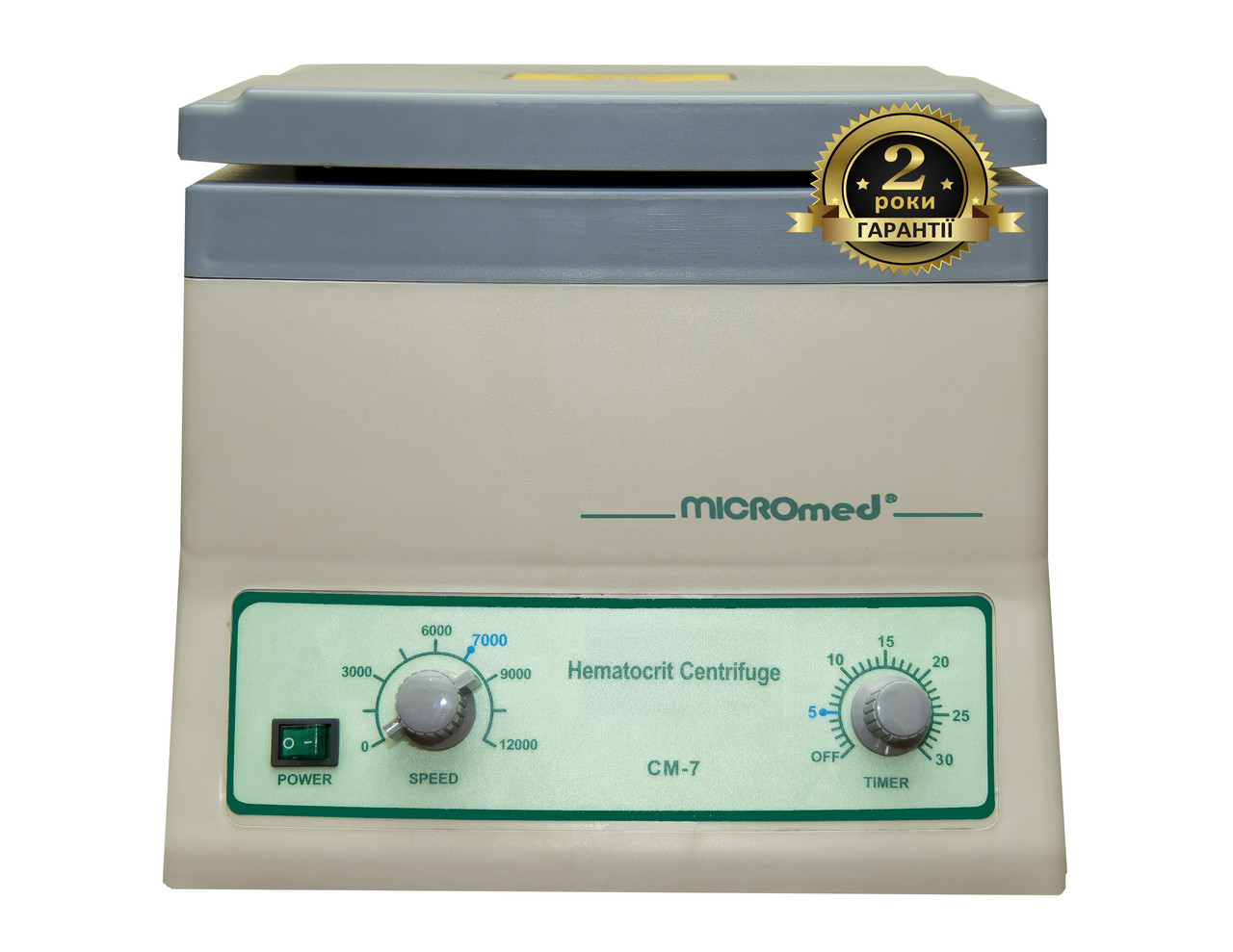 Центрифуга гематокритная СМ-7, MICROmed