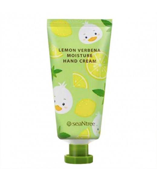 Увлажняющий крем для рук с экстрактом лимона SeaNtree Lemon Verbena Moisture Hand Cream 30 мл