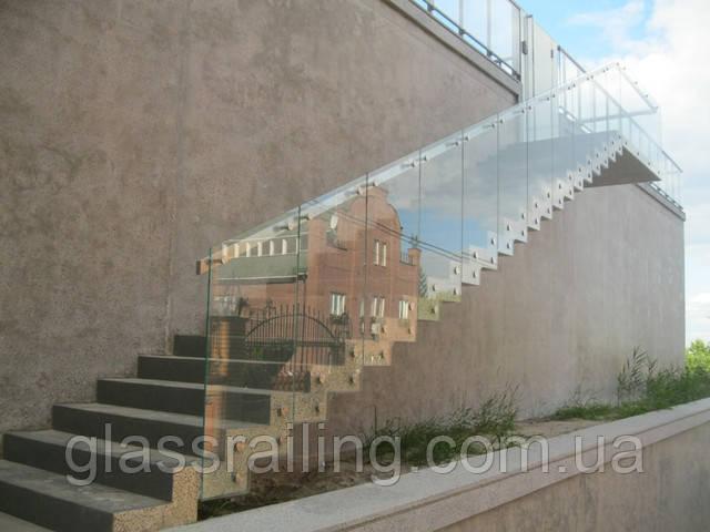 Lestnica betonnaya zerkalnaya