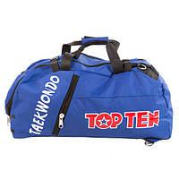 0f7c3cdb4a0b Сумка спортивная Top10, синий, таеквондо, 58*27*29 см.
