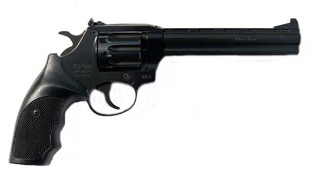Револьвер под патрон флобера SNIPE 6 (пластик)
