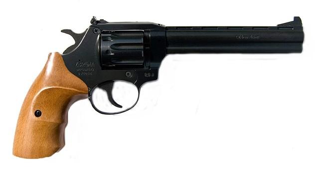 Револьвер под патрон флобера SNIPE 6 (бук)