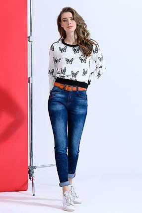 Турецкие джинсы прямого кроя, фото 2