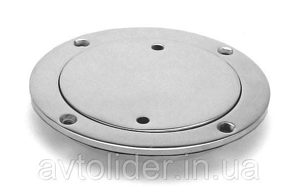 Нержавіючий вологозахисний інспекційний люк, круглий, 100 мм