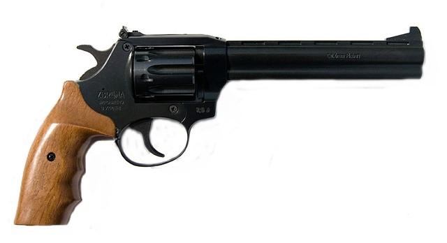 Револьвер под патрон флобера SNIPE 6 (орех)