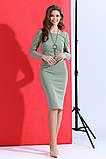Красивое женское облегающее платье с кулоном 42-48р., фото 3