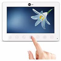"""Цветной видеодомофон NeoLight Omega , 7"""" TFT LCD экран, подсветка кнопок,тонкий корпус в черном и белом цвете"""