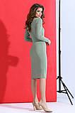 Красивое женское облегающее платье с кулоном 42-48р., фото 6