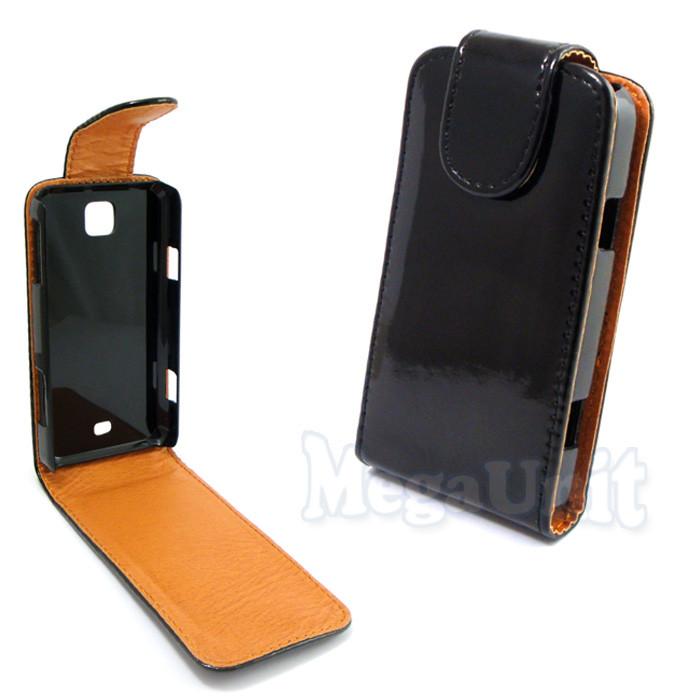 Откидной чехол-флип для Samsung C6712 Star 2 duos Черный